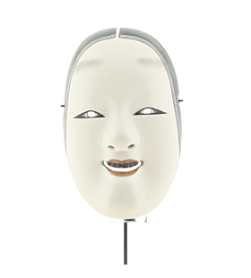 Ko'omote - Noh Mask of a Young Girl, traditional theatre, japan