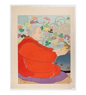paul jacoulet, Souvenirs d'Autrefois. Japon, old memories, japan, french artist
