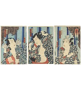irezumi, japanese tattoo, traditional tattoo, tebori, japanese art, kabuki actors, edo period
