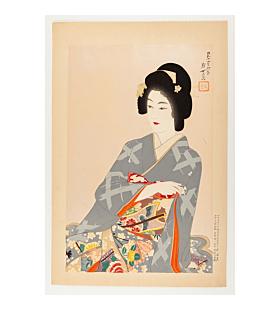 tomoyo jinbo, beauty in kimono