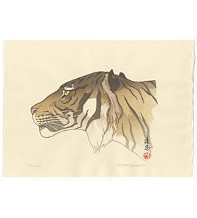 toshi yoshida, tiger, animal print