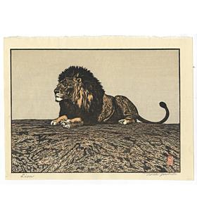 toshi yoshida, lion