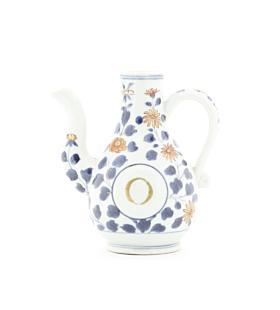 japanese antique, japanese porcelain, imari, arita, dutch, hand painted, glaze, flower