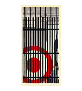 truhide kato, contemporary art, japanese woodblock print