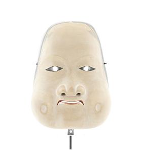 Oto, Kyogen Mask, Woman, Japanese antique, Japanese theatre, Japan