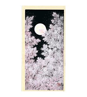 Teruhide Kato, Cherry Blossom and Full Moon, Contemporary