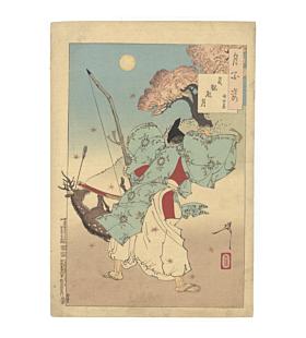 yoshitoshi tsukioka, one hundred aspects of the moon