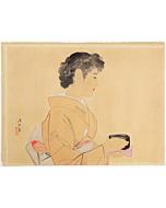 Ito Shinsui, Tea Ceremony, Shin-hanga Beauty Print