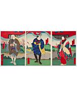 yoshitaki utagawa, kabuki theatre, osaka-e