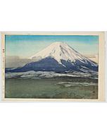 hiroshi yoshida, Yoshida Village, ten views of fuji, modern landscape, shin-hanga