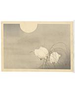 Hanko Kajita, Herons in the Moonlight