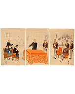 kiyochika kobayashi, treaty of shimonoseki