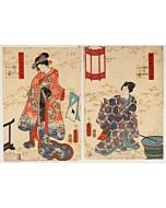Toyokuni III Utagawa, The Tale of Genji, Classic Literature