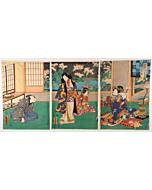 toyokuni III utagawa, prince genji, edo period