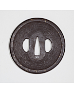 iron tsuba, sword guard, sword fittings, japanese sword, japanese katana, swordsmith, artisan