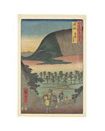 hiroshige ando, mount zozu, elephant head, landscape