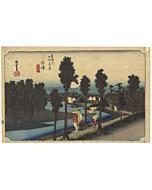 hiroshige, numazu, tokaido, landscape