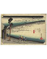 Hiroshige Ando, Futagawa, The Fifty-three Stations of the Tokaido