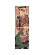 yoshitora utagawa, courtesan