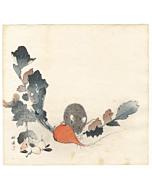 Kogyo Tsukioka, Mouse and Carrot