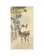 Koson Ohara, Pair of Deer