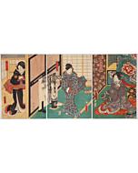 Toyokuni III Utagawa, Kabuki Play
