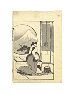 hokusai katsushika, one hundred views of mount fuji, landscape