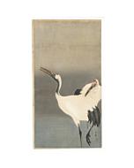 Koson Ohara, A Couple of Cranes, Bird Print