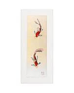 kunio kaneko, gold fish, kingyo, contemporary japanese art, gold leaf