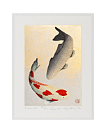 Kunio Kaneko, Love Koi, Japanese Fish, Contemporary Art