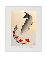 Kunio Kaneko, Love Koi, Japanese Fish, Contemporary Art