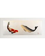 kunio kaneko, koi fish, contemporary art, gold leaf