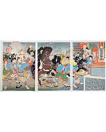 Shuko Tomita, Attacking Jiuliancheng of Qing Kingdom, The First Sino-Japanese War