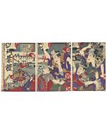 japanese matsuri festival, landscape, japanese tattoo, festival shrine, celebration, traditional culture