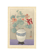mokuchu urushibara, flower print