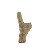 wooden netsuke, jurojin, seven lucky gods