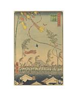 Hiroshige I Utagawa, Tanabata Festival, One Hundred Famous Views of Edo
