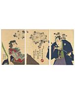 japanese woodblock print, tattoo design, irezumi, tattoo inspiration, fudo myoo, kabuki actors, japanese tattoo, japanese art, antique