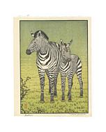 toshi yoshida, zebras, animal print