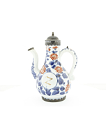 japanese antique, japanese porcelain, imari, arita, soy sauce bottle, dutch