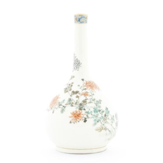 Yabu Meizan, Satsuma Vase, Ceramics, Japanese antique, Japanese art