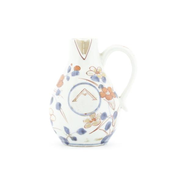 imari ware, oil container, oil bottle, japanese porcelain, dutch, japanese antique