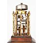 japanese clock, daidokei, lantern clock, japanese antique, craftsman, handmade, meiji period