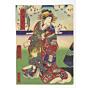 yoshitaki utagawa,  Kabuki Play - Megumi Soga Homare no Fujiyama