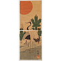 hiroshige II utagawa, A Couple of Cranes (鶴), kakemono-e
