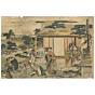 Hokusai Katsushika, Act VII(七段目),  Kanadehon Chushingura(仮名手本忠臣蔵)