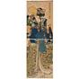 kunisada I utagawa, performing girl, dance, edo
