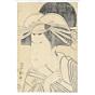 toyokuni I utagawa, portrait of kabuki actor, edo period