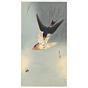 koson ohara, Swallows Chasing a Bee, birds