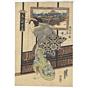 eisen keisai, Manhachiro, Yanagibashi, Ryogoku, A Guide to Beauties and Restaurants